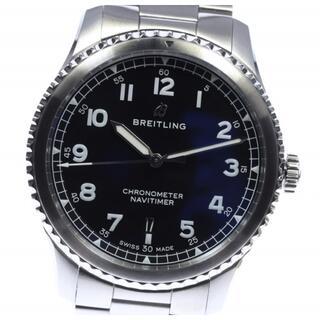 ブライトリング(BREITLING)の☆美品 ブライトリング ナビタイマー デイト A17314 メンズ 【中古】(腕時計(アナログ))