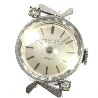インターナショナルウォッチカンパニー(IWC)のIWC チューラー K18WG ヘッド  レディース 【中古】(腕時計)