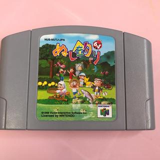 ニンテンドウ64(NINTENDO 64)のニンテンドー64 ぬし釣り(家庭用ゲームソフト)