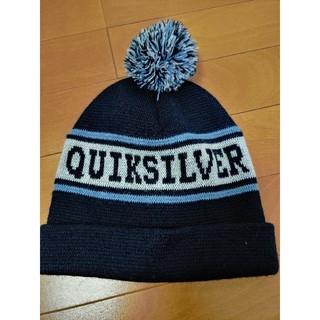 クイックシルバー(QUIKSILVER)のクイックシルバーキッズニット帽(帽子)