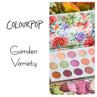 カラーポップ(colourpop)のcolourpop 💐 garden variety(アイシャドウ)