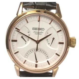 セイコー(SEIKO)のセイコー プレサージュ 6R24-00D0 メンズ 【中古】(腕時計(アナログ))