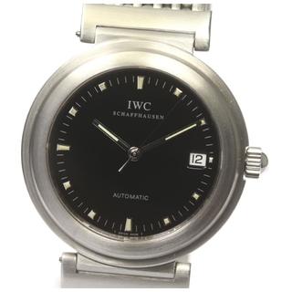 インターナショナルウォッチカンパニー(IWC)の☆美品  IWC ダヴィンチ デイト IW3528 自動巻き メンズ 【中古】(腕時計(アナログ))
