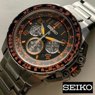 SEIKO - セイコー プロスペックス SEIKO クロノグラフ ソーラー メンズ腕時計