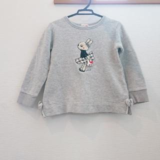 ニットプランナー(KP)の【110】kp ミミちゃん トレーナー(Tシャツ/カットソー)