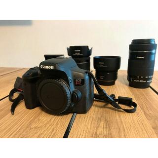 Canon - Canon EOS Kiss X8i  レンズ3本セット