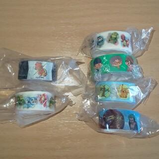 マスキングテープ 5個 銀魂 ワンピース コナン ポケモン
