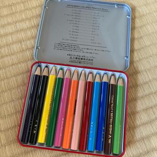 ミツビシエンピツ(三菱鉛筆)の三菱 色鉛筆 12色(色鉛筆)