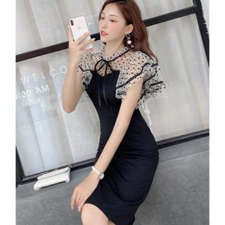 リリーブラウン(Lily Brown)の韓国 ドレス ワンピース タイト キャバ(ひざ丈ワンピース)