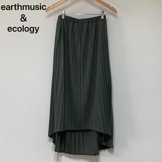 earth music & ecology - earthmusic&ecology / ロングプリーツスカート