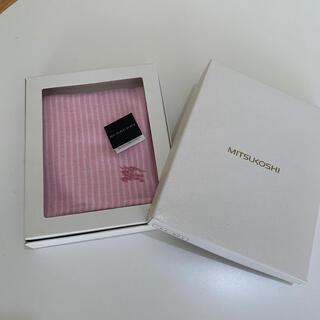 BURBERRY - バーバリー タオルハンカチ 新品 ピンク系