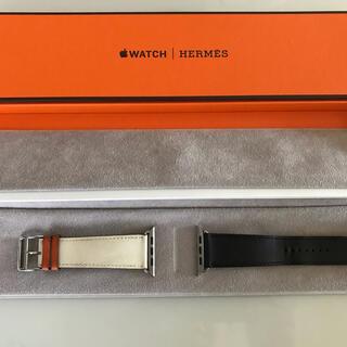 Hermes - Hermes Apple Watch エルメス レザーストラップ 42/44mm