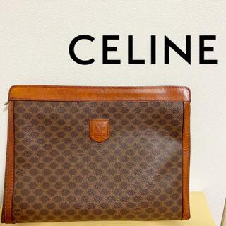 celine - 【希少ヴィンテージ】CELINE オールドセリーヌ マカダム柄クラッチバッグ