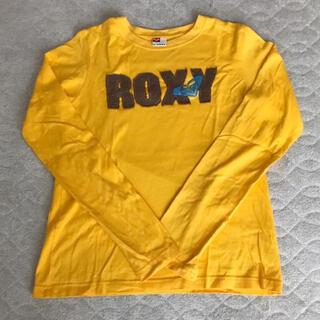 ロキシー(Roxy)のROXY ロンT ロンティー イエロー(Tシャツ(長袖/七分))