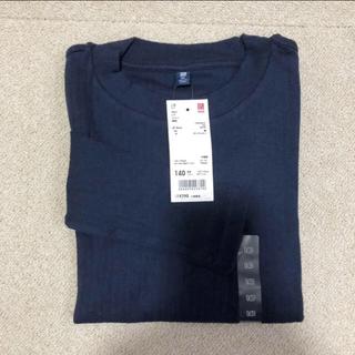 ユニクロ(UNIQLO)のユニクロ カットソー ロンT 新品 140cm 長袖 値下げ中(Tシャツ/カットソー)