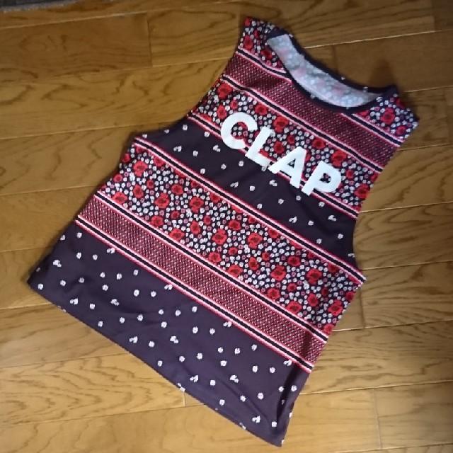【最終価格】Clap☆クラップトップスフィットネスウェア レディースのトップス(タンクトップ)の商品写真