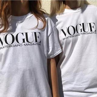 NIKE - dear skating Tシャツ 'vogue'