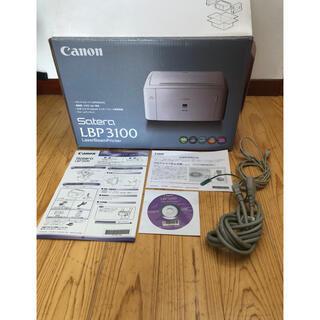 キヤノン(Canon)のCanon レーザープリンタSatera LBP3100  (PC周辺機器)