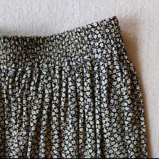 Shinzone - シンゾーン フラワー プリント スカート 小花柄