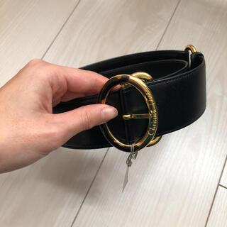 クリスチャンディオール(Christian Dior)のタグ付き Dior ディオール ベルト 牛皮(ベルト)