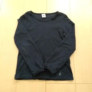 プチバトー(PETIT BATEAU)のプチバトー 長袖カットソー 女の子 6ans/114cm(Tシャツ/カットソー)