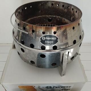 ペトロマックス(Petromax)のペトロマックス アタゴ 専用ケース付 スノーピークやアシモクラフト好きに 焚火台(ストーブ/コンロ)