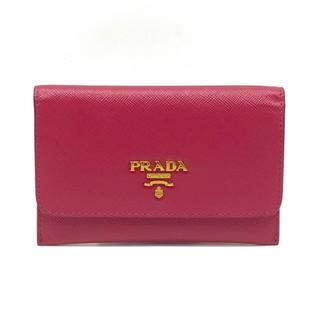 プラダ(PRADA)のプラダ コインケース 小銭入れ カードケース 名刺入れ サフィアーノレザー(コインケース)
