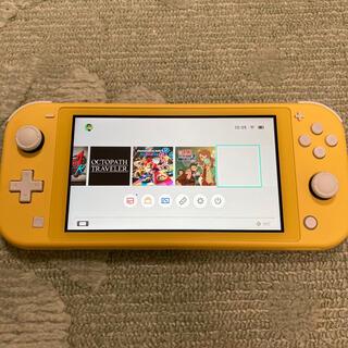 Nintendo Switch - Nintendo Switch LITE ニンテンドースイッチ イエロー本体