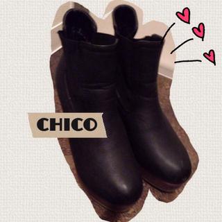 フーズフーチコ(who's who Chico)の再出品 chico(ブーツ)