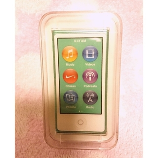 Apple - 【新品未使用】iPod nano 16GB GREEN