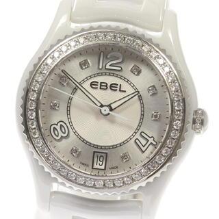 エベル(EBEL)の☆良品  エベル X-1 ダイヤベゼル  クォーツ レディース 【中古】(腕時計)