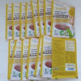 COSTCO台湾のオーガニックジンジャーティーwithブラウンシュガー15包(茶)