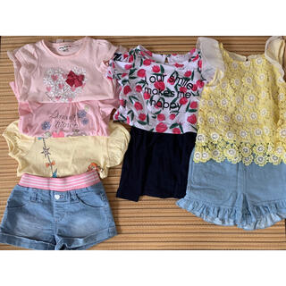 anyFAM - 春夏向けキッズ服100cmセット 子ども服ワンピースシャツ等