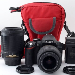 Nikon - 【新品級】Nikon ニコン D3200 ダブルズームキット