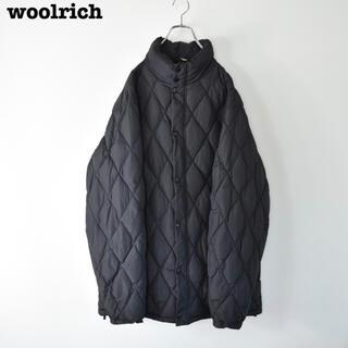 WOOLRICH - WOOLRICH ウールリッチ  キルティング ロングダウン ジャケット 美品