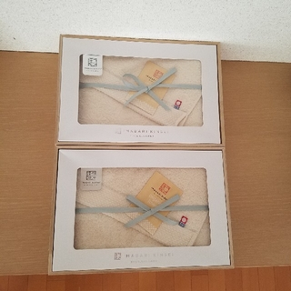 イマバリタオル(今治タオル)の今治謹製 バスタオル×2(タオル/バス用品)