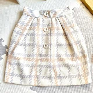ウィルセレクション(WILLSELECTION)の【美品】ウィルセレクション スカート Sサイズ(ひざ丈スカート)