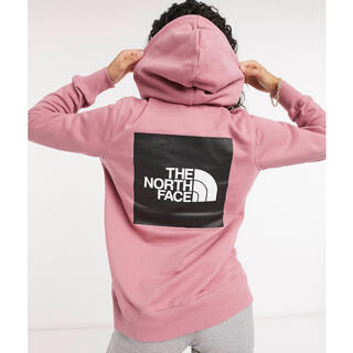 THE NORTH FACE - 【Mサイズ】THE NORTH FACE レッドボックスフーディー ピンク
