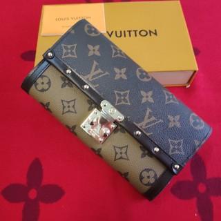 ルイヴィトン(LOUIS VUITTON)の❀送料無料❀  ルイヴィトン 長財布 小銭入れ 素敵 折り財布 (財布)