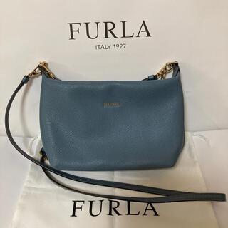 Furla - 中古 美品 FURLA フルラ ショルダーバッグ ブルー