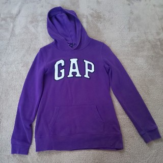 ギャップ(GAP)のGAP xxs 紫 パープル(パーカー)