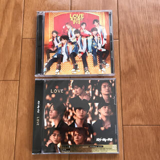 キスマイフットツー(Kis-My-Ft2)のKis-My-Ft2 LOVE(初回盤A)(初回盤B) セット まとめ(ポップス/ロック(邦楽))