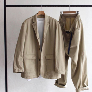 nanamica - AH.H nanamica Big Chino Pants