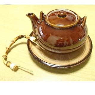 漢方土瓶 すり鉢付き 麦茶 煎茶 ほうじ茶 健康茶に 大きめ 急須(食器)