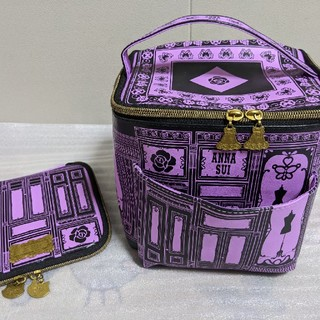 ANNA SUI - ANNA SUI バニティ ミチ化粧ケース付き