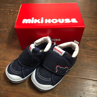 mikihouse - 未使用新品【ミキハウス】靴 ベビーシューズ 14.0