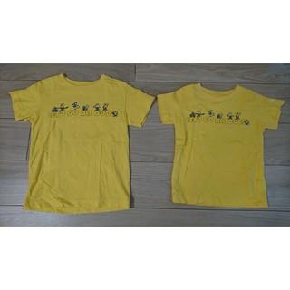 ミニオン(ミニオン)のミニオンTシャツ2枚セット(100サイズ・120サイズ)(Tシャツ/カットソー)
