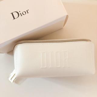 Dior - Dior ディオールポーチ スクエア ホワイト