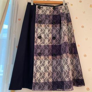 BURBERRY BLUE LABEL - ブルーレーベルクレストブリッジ スカート