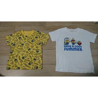 ミニオン(ミニオン)のミニオン Tシャツ 2枚セット 120サイズ(Tシャツ/カットソー)